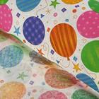 Бумага тишью «Воздушные шары» 50 х 76 см