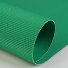 Картон цветной гофрированный 700*500 мм Werola e-wave, 110 г/м², светло-зеленый