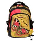 Рюкзак школьный эргономичная спинка для девочки Steiner 2-STEF1 41*30*18 «Бабочка» 2-STEF1