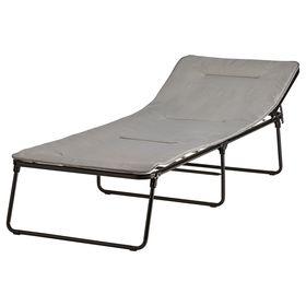 Дополнительная кровать, цвет серый ФЛЕММА