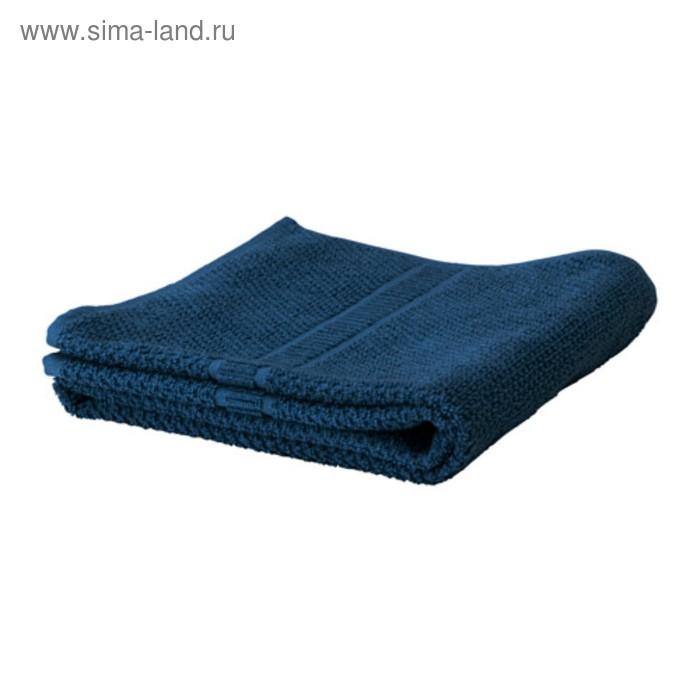 Полотенце махровое ФРЭЙЕН, размер 70х140 см, цвет тёмно-синий