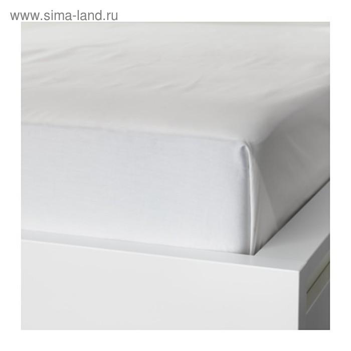 Простыня НАТТЭСМИН, размер 240х260 см, цвет белый