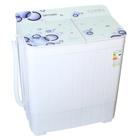 Стиральная машина Optima МСП-35СТ , п/автомат, до 3.5 кг, 1350 об/мин, белое стекло, пузыр