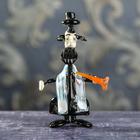 """Сувенир из стекла """"Еврей с трубой"""", 5 х 8 х 13 см"""