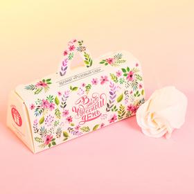 Мыльные лепестки в коробке-сумочке 'В этот чудесный день' Ош
