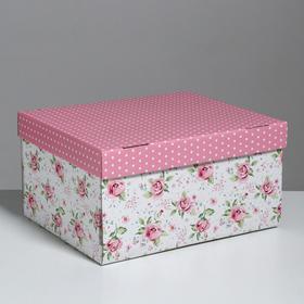 Складная коробка «Воспоминания о чудесном», 31,2 х 25,6 х 16,1 см Ош