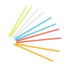 Счетные палочки, набор 100шт, 5 цветов 7 см