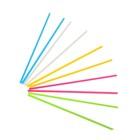 Счетные палочки, набор 100шт, 5 цветов 9 см