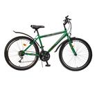 """Велосипед 26"""" Progress модель Crank RUS, 2017, цвет зеленый, размер 17"""""""