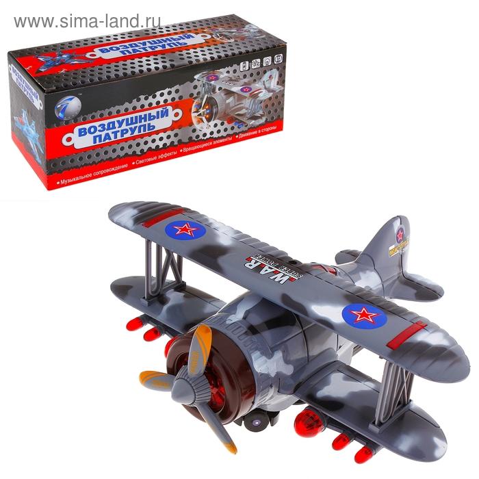 """Самолет """"Параплан"""", работает от батареек, световые и звуковые эффекты"""