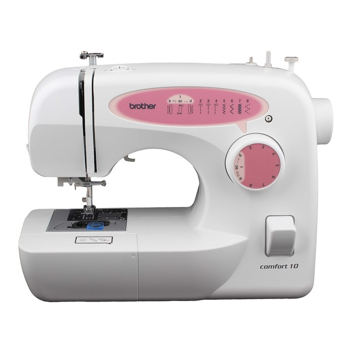 Швейная машина Comfort 10, 70 Вт, 12 операций, обметочная, потайная, эластичная строчка