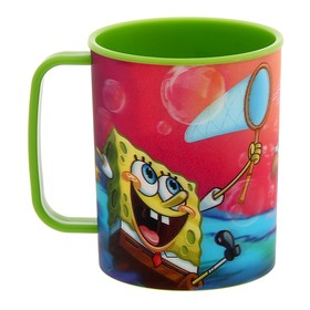 Чашка 3D 325 мл 'Губка Боб', цвет зеленый Ош