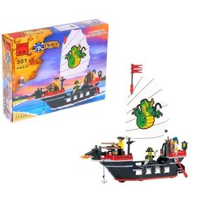 """Конструктор Пираты """"Пиратский корабль"""", 211 деталей"""