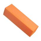 Блок для шлифовки ногтей, цвет оранжевый (ZJNB-10)