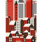"""Колледж-тетрадь А6, 96 листов клетка """"Графика. Город контрастов"""", интегральная обложка, матовая ламинация"""
