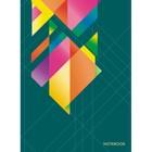 "Колледж-тетрадь А6, 64 листа клетка ""Орнамент. Яркие краски"", твердая обложка, глянцевая ламинация"