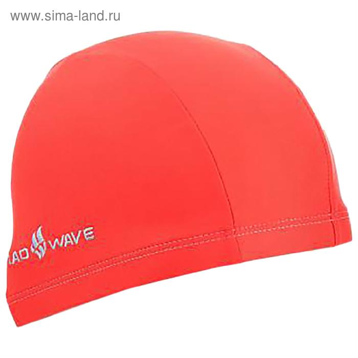 Шапочка для плавания Adult Lycra, цвет красный