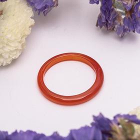 Кольцо гладкое 'Сердолик'  2 мм, 302 Ош
