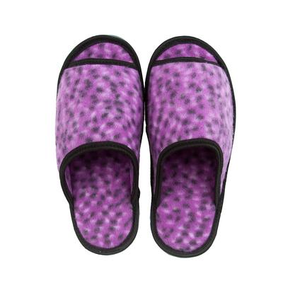 Тапочки домашние женские открытые, цвет фиолетовый, размер 36