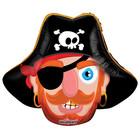 """Шар фольгированный 14"""" """"Голова пирата"""""""