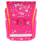 Ранец на замке Herlitz MIDI NEW 38*32*26 дев Butterfly, розовый 50007752