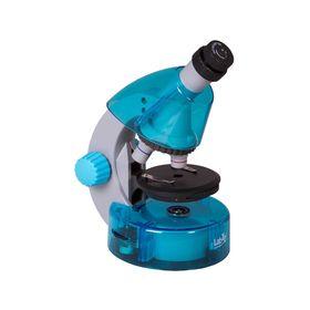 Микроскоп Levenhuk LabZZ M101 Azure/Лазурь Ош