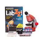 Микроскоп Levenhuk LabZZ M101 Orange/Апельсин