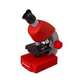 Микроскоп Bresser Junior 40x-640x, красный Ош