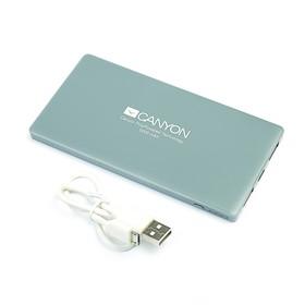 Внешний аккумулятор CANYON CNS-TPBP5DG Li-Pol, 5000 mAh, Micro-USB и Lightning Ош