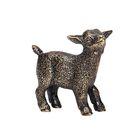 Скульптура «Козлёнок» бронза 1,5х4х3,5 см