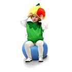 """Карнавальный костюм """"Яблоко"""", жилет, шапочка, р-р 28-32 см"""