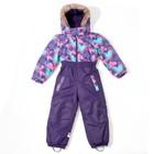 Комбинезон зимний для девочки, рост 98 см, цвет пурпурный W17372