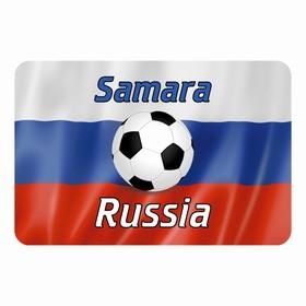 """Магнит полимерный """"Самара"""" мяч, 9х6см"""