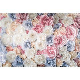 "Фотообои ""Розовый микс"" M 717 (3 полотна), 300х200 см"