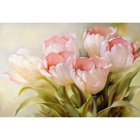 """Фотообои """"Нежный тюльпан"""" M 459 (4 полотна), 400х270 см"""