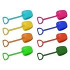 Лопатка для детей, 49 см, пластик, цвет МИКС