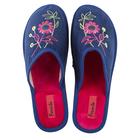 Тапочки женские арт. HL51680, цвет синий, размер 37
