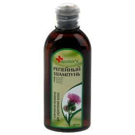 Шампунь Apotek`s репейный с комплексом витаминов для укрепления волос, 250мл Ош