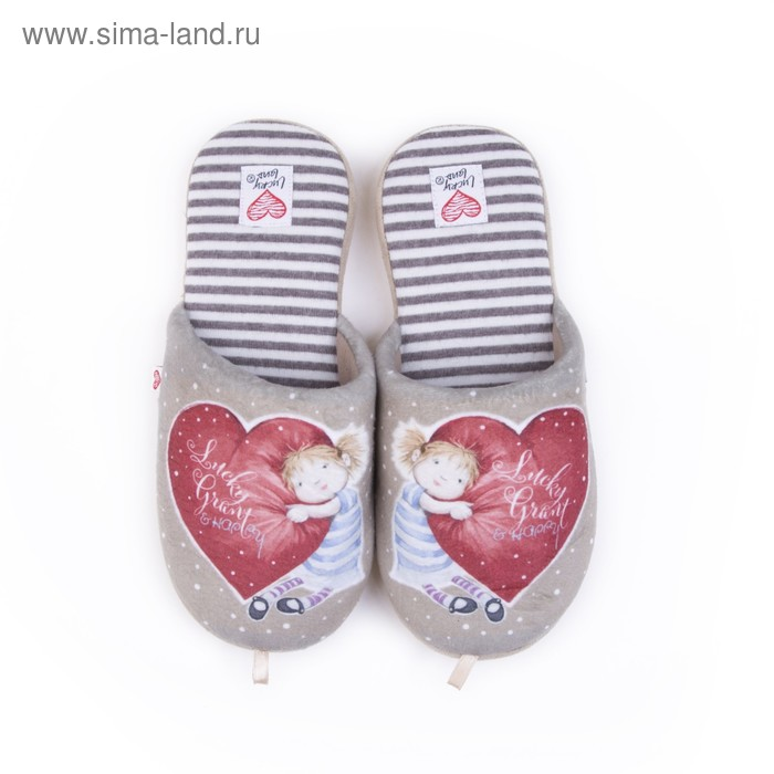 Тапочки женские арт. 2609 W-ASС-W , цвет бежевый, размер 39