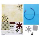 """Набор для создания открытки """"Волшебная снежинка"""" (nabcard12)"""