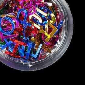 Декоративный элемент 'Буквы', цвет МИКС Ош