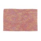 """Коврик для ванной """"Букли"""" 60х40 см, цвет розовый"""