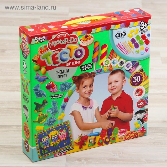 Набор креативного творчества «Тесто для лепки» серия «MASTER DO»30 цв. TMD-03-03 Danko Toys