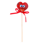 """Сердце на палочке """"Для тебя"""", 6 х 5,7 см"""