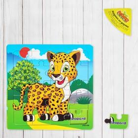 "Пазл ""Учим животных. Леопард"""
