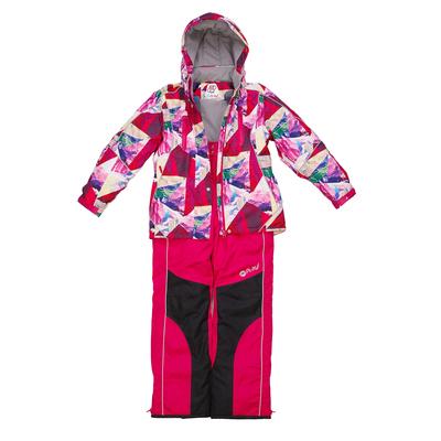 Костюм для девочки, рост 134 см, цвет розовый/бордовый 1su726