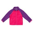 Джемпер флисовый для девочки, рост 104 см, цвет розовый 1fjk505