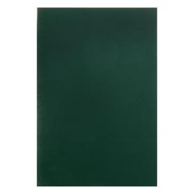 """Тетрадь А4, 96 листов клетка """"Зелёная"""", обложка бумвинил"""
