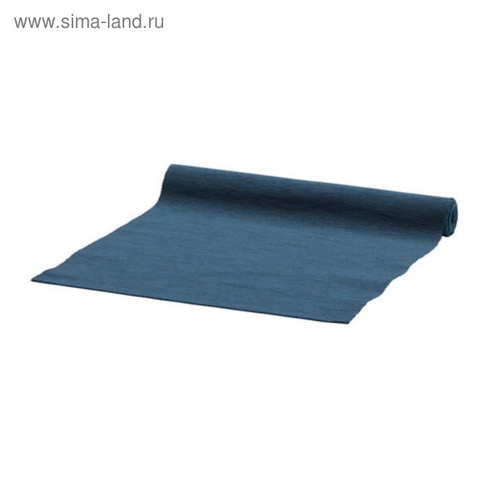 Дорожка настольная МЭРИТ, размер 35х130 см, цвет тёмно-синий