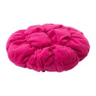 Чехол для табурета СТИККАТ, диаметр 28 см, цвет розовый